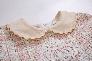 Image 4 - Pettigirl Großhandel Herbst Tweed Prinzessin Mädchen Kleider Mit Stirnband Geburtstag Mädchen Party Kleid Kinder Kleidung G DMGD206 182