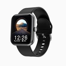 Novos relógios inteligentes i8 masculinos e femininos 1. 7-Polegada ips tela colorida, ip67 à prova dip67 água, suporte bluetooth 5.0, link android e ios