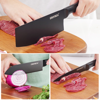 Japanese Kitchen Knife Set Stainless Steel  5 5