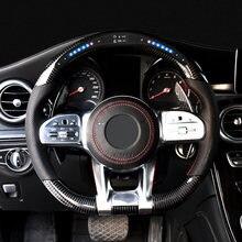 Чехол на рулевое колесо для mercedes benz w205 w213 w222 Для