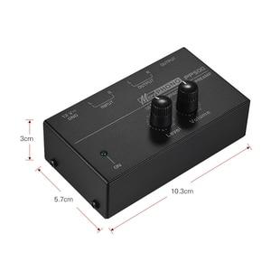 Image 2 - Pp500 مضخم صوت فونو بريمب فائق الدقة مع التحكم في المستوى والحجم بمدخل ومخرج Rca بواجهات إخراج Trs مقاس 1/4 بوصة ، E