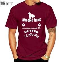 Men t shirt Better I Love My Dog Saint Bernard Dog L tshirts Women t-shirt