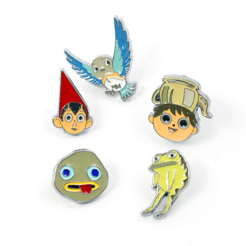 Over The Garden Wall Pin Bros Pin Kartun Lencana Dekorasi Di Ransel Pakaian Dekoratif Tas Bros Fashion Perhiasan Hadiah