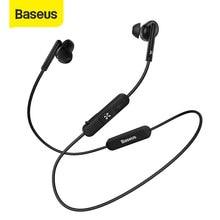 Baseus sans fil Bluetooth écouteur sport étanche tour de cou écouteurs Hi-Fi stéréo casque Support iOS/Android téléphones HD appel