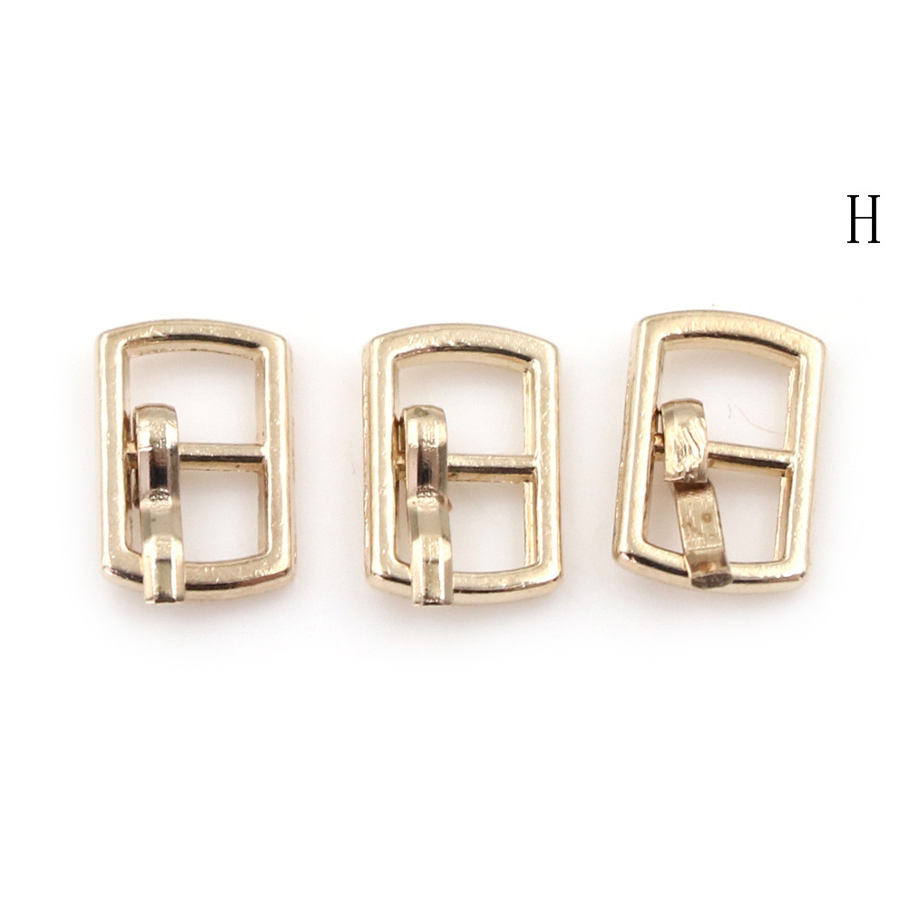3/10PCS 4.5mm Mini Buckle DIY Patchwork Buckle For Dolls Clothing Adjustable Accessories Handmade Sewing 13
