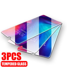 3Pcs Full Tempered Glass For Huawei P20 P30 Lite Pro Protective Glass For Huawei Mate20 Lite Pro P Smart 2019 Screen Protector(China)