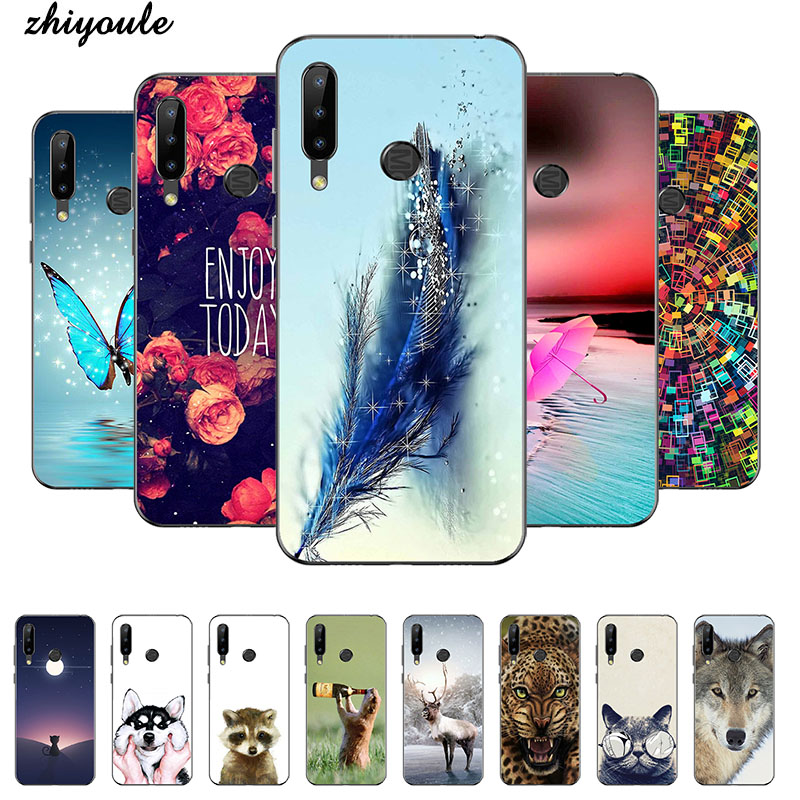 Красочные Чехлы для мобильных телефонов, Чехол Для Doogee Y9 plus N20 Y8, мягкие чехлы из ТПУ с принтом, задняя крышка, чехол, полный защитный чехол