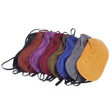 10 adet uyku göz yardımı kapak maskesi seyahat dinlenme göz kapağı uyku maskesi havacılık uyku maskesi moda taşınabilir elastik bandaj