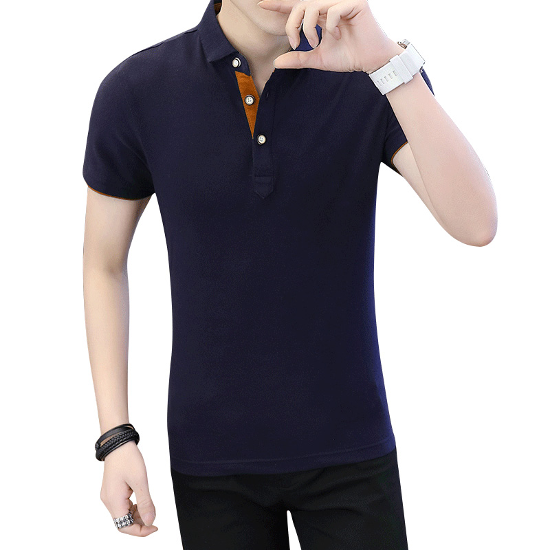 Brand Summer Polo Mman Brand Polo Shirt Mens Business & Casual Solid Male Polo Shirt Short Sleeve Breathable Summer Chemise Polo