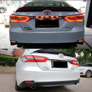 Image 5 - iJDM 3D Optic LED Bumper Reflector Lights For 2018 up Toyota Camry, Function as Tail, Brake Rear Fog Lamps and Turn Signal Light