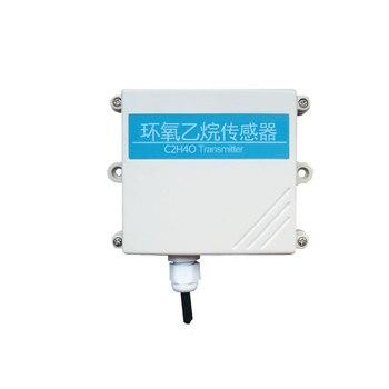 Sensor de óxido de etileno de alta precisión RS485 detección de gas analógica C2H4O transmisor de óxido de etileno