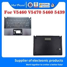 노트북 밑면 밑면 덮개 조립품 Dell VOSTRO V5460 V5470 5460 5470 V5480 5480 5439 0KY66W KY66W 용 손목 받침대 키보드
