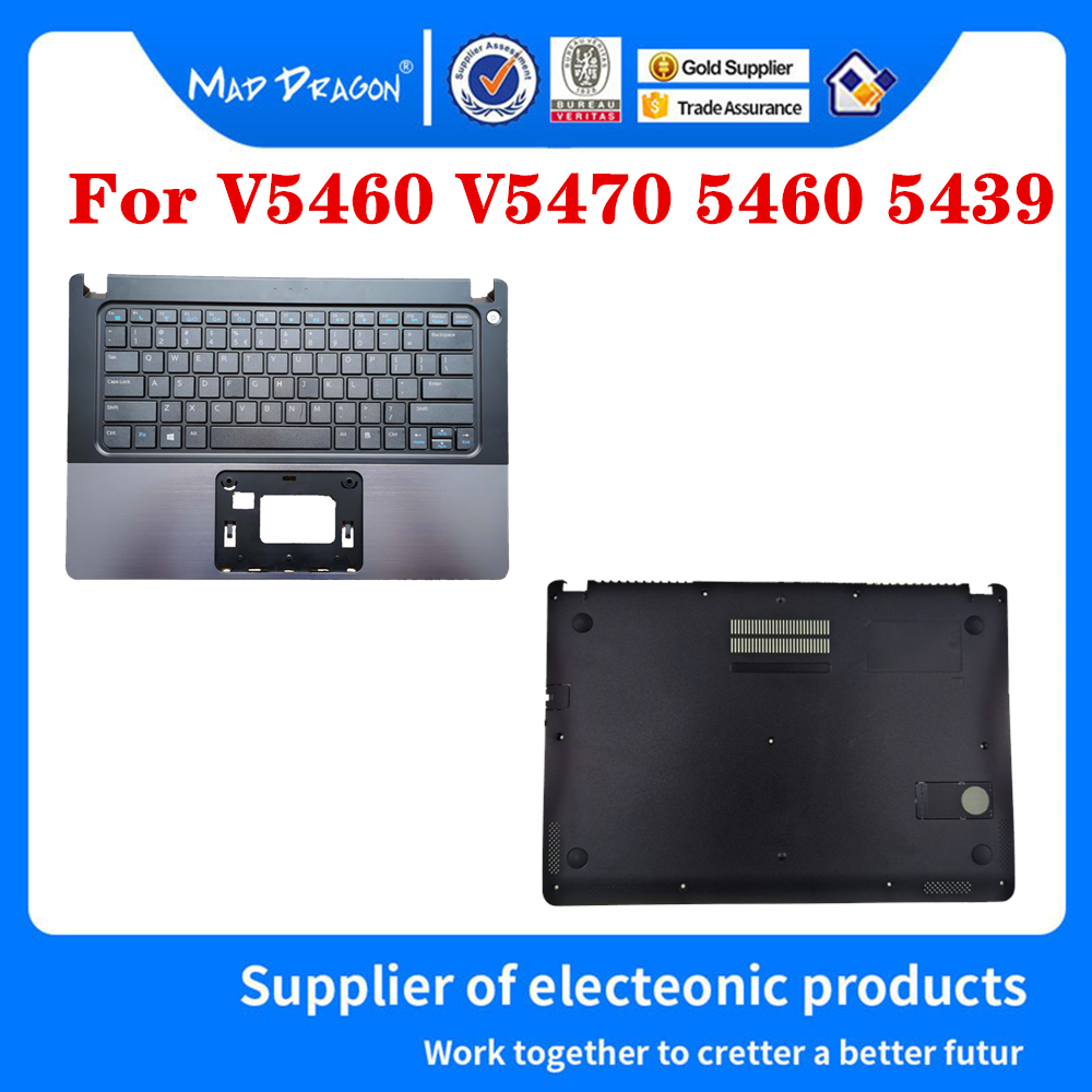Laptop Bottom Base Bottom Cover Assembly Palm rest keyboard For Dell VOSTRO V5460 V5470 5460 5470 V5480 5480 5439 0KY66W KY66W image