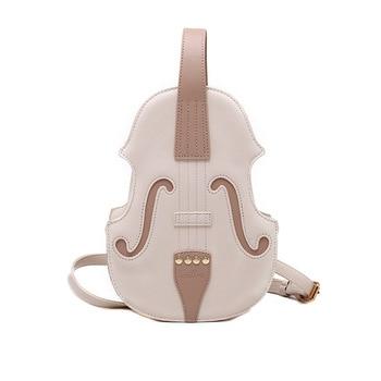 New 3 Colors Vintage Violin Design Shoulder Bag Crossbody Bag for Women 2021 Purses and Handbags Pu Leather Trendy Designer Bag 8