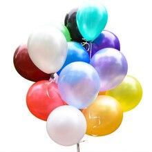 50pcs/Lot 10inch 1.8g White Black Latex Balloon Air Balls Wedding Decoration happy birthday party decorations kids supplies Toys
