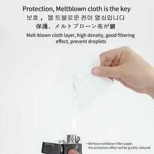 Image 3 - 100 шт. защитная маска для фильтров, качественная трехслойная одноразовая Пылезащитная дышащая маска против капель, защитные маски для лица, респиратора для рта