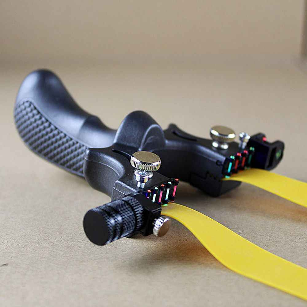 Profesional Berburu Katapel dengan Tingkat Presisi Tinggi Alat untuk Outdoor Katapel Katapel Bola Laser Bertujuan Menembak