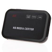Full HD 1080P медиаплеер центр RM/RMVB/AVI/MPEG мультимедийный видео плеер с HDMI YPbPr VGA AV USB SD/MMC Порт дистанционного управления