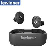 Lewinner V5 TWS 무선 이어폰 방수 HiFi 헤드셋 Bluetooth 5.0 이어 버드 스마트 폰용 소음 차단 게임용 헤드셋