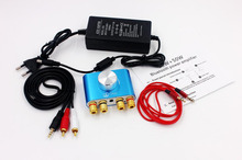 50W + 50W 오디오 F900 미니 블루투스 앰프 Hifi 스테레오 파워 앰프 디지털 파워 앰프 (전원 어댑터 포함)