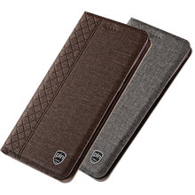 Business Style PU Leather Flip Cover Case For Lenovo S5 Pro Phone Bag For Lenovo K5 Pro Magnetic Phone Cover Stand Funda Coque(China)