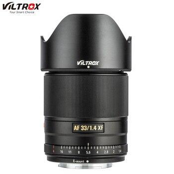 Viltrox AF 33mm f1.4 STM Auto focus Prime Lens APS-C For Fuji X-mount Mirrorless Camera X-T3 X-H1 X20 X-T30 X-T20 X-T100 X-Pro2