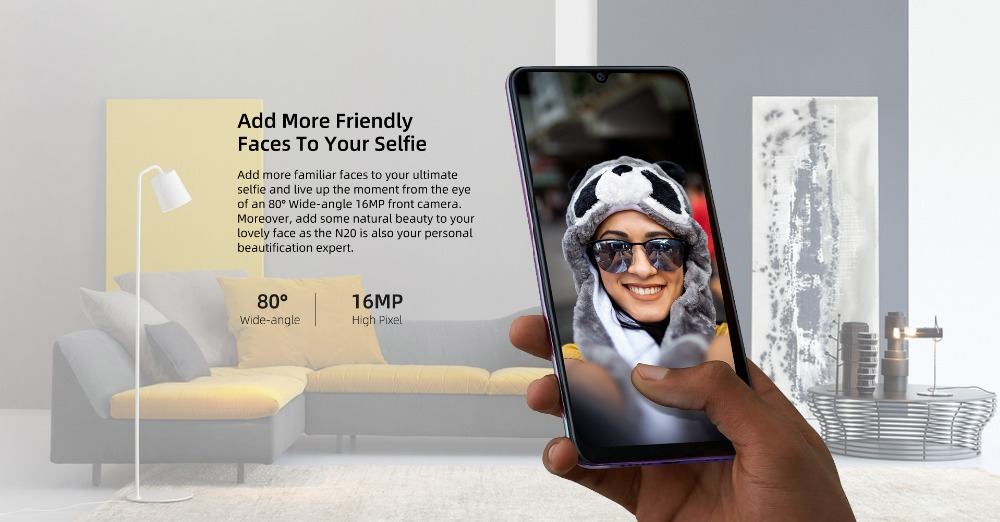 Hafcd81aa2ad64ef591b2c4cecadf4385V DOOGEE N20 New 2019 Smartphone 6.3inch FHD+ Display 4350mAh 4GB+64GB Octa Core 10w charge Fingerprint 16MP Triple Back Camera