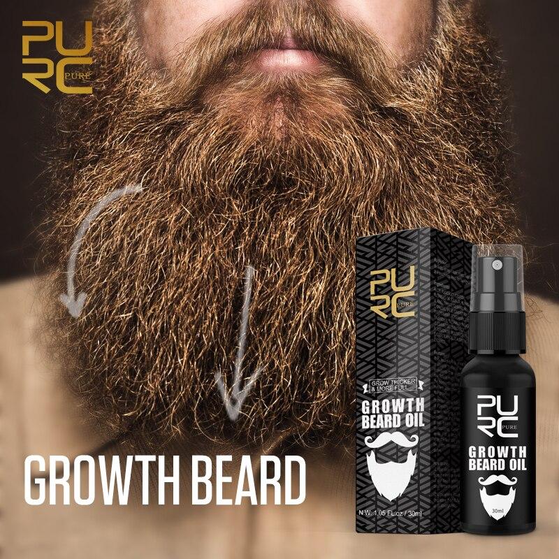 Thicker Beard Growth Oil Anti Hair Loss Men's Beard Hair Extension Grow Hair Essence Spray Fuller Hair Care 30ml 4
