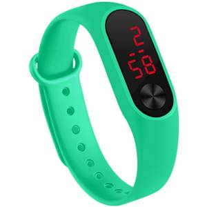 Electrical-Watch Silicone Sport Waterproof Wris Kid Multifunction Colorful Outdoors Students