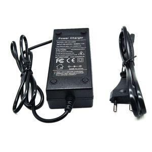 Image 1 - 36V Batterij Oplader Output 42V 2A Charger Input 100 240 VAC Lithium Li Ion Lader Voor 10S 36V Elektrische Fiets