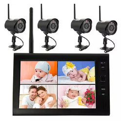Discoball Dropshopping 7.0 inch Color LCD 2.4G Wireless Digital Video Baby Monitor Radio Babysitter with Eletronic Baby Cameras