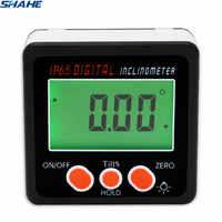 Nivel Digital transportador Inclinómetro de Nivel Magnético ángulo medidor de ángulo de ahorro nivel caja Digital ángulo Gauge