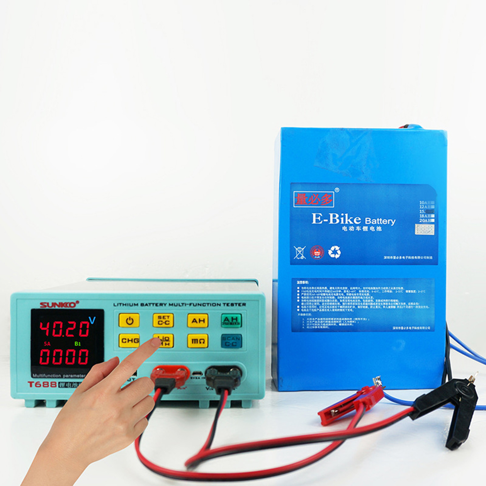 Tools : SUNKKO T688 18650 Lithium Battery Pack Battery Aging Test Discharge Internal Resistance Test Battery Tester Parameter Test