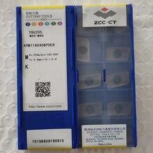 Твердосплавные вставки с ЧПУ ZCC.CT, 100 шт., APMT160408PDER YBG205 / 10 шт., SEKR1203AFN YBG202 / 10 шт., YBG205