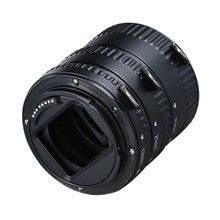 마운트 렌즈 어댑터 캐논 EOS EF S 렌즈 750D 80D 7D T6s 60D 7D 550D 5D 용 자동 초점 AF 매크로 확장 튜브 링