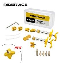 Kit de purga de freno de disco hidráulico para bicicleta AVID SRAM S4, guía de código de borde de sangrado, RSC R Level ULT tlm, herramientas de reparación de grifo rojo