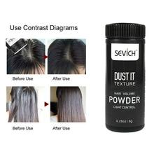 Для женщин и мужчин пушистое эффективное моделирующее масло для удаления быстро матирующий порошок для волос освежающий профессиональный натуральный объемный Стайлинг