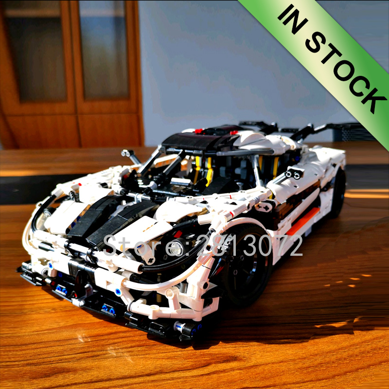 In stock <font><b>23002</b></font> Super Sports Racing Car Model City Race The MOC-4789 Changing Racing Car 3236pcs Building Blocks Bricks Toys image