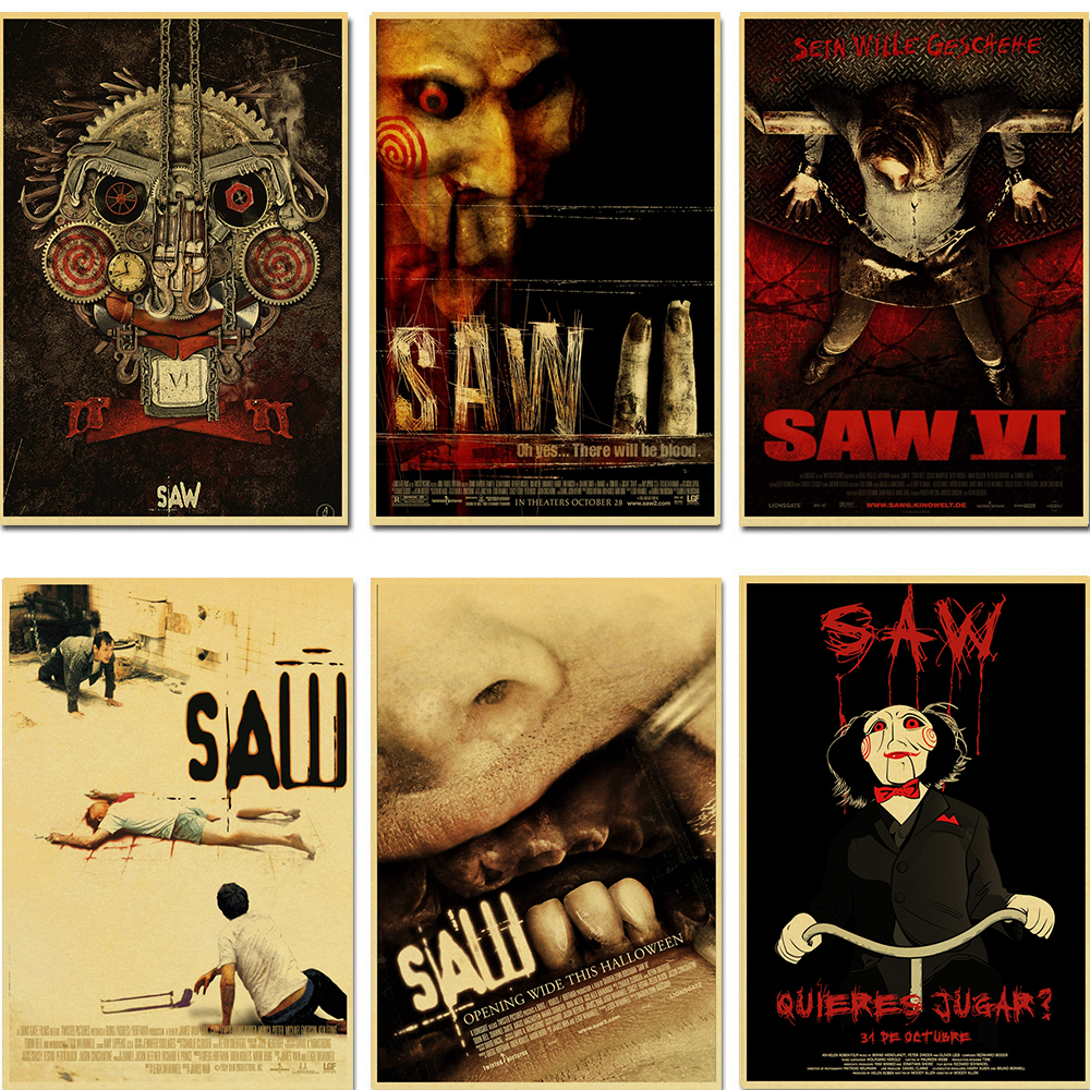 Saw Horror Movie Poster