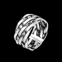 Onlysda винтажные плетеные символы викингов из нержавеющей стали для мужчин и женщин Простые Кольца для девушек ювелирные изделия для бойфрен...