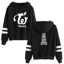 2019 KPOP TWICE Hooded Sweatshirts TWICE Kpop Hot Sale Hoodie Fans ONCE