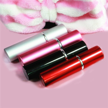 цена на 10pcs 10x2.2cm Portable Aluminum Refillable Perfume Spray Bottle 10ml Travel Container With Empty Containers Perfume Bottle