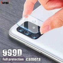 Protector de pantalla de cámara 99D para Samsung Galaxy S20 Ultra fe S21 S10E S10 S8 S9 Plus lite, película de lente para A51 A71 A10 A20 A50 A70 A40, vidrio templado
