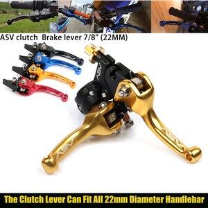 CNC ASV F3 Brake Clutch Levers Foldable For Honda Yamaha Kawasaki Suzuki Motorcycle Pitbike Dirt Pit Bike Universal Patrs