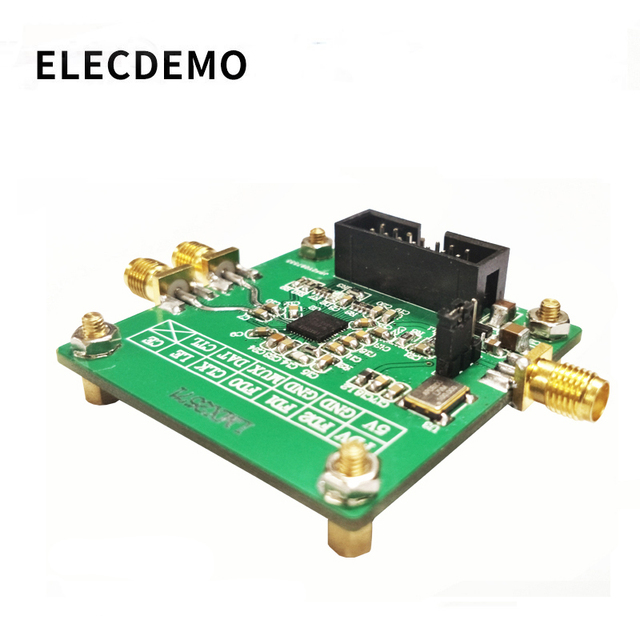 LMX2571 Module signal source RF source Phase locked loop module FM modulation 2018 TI electronic competition module