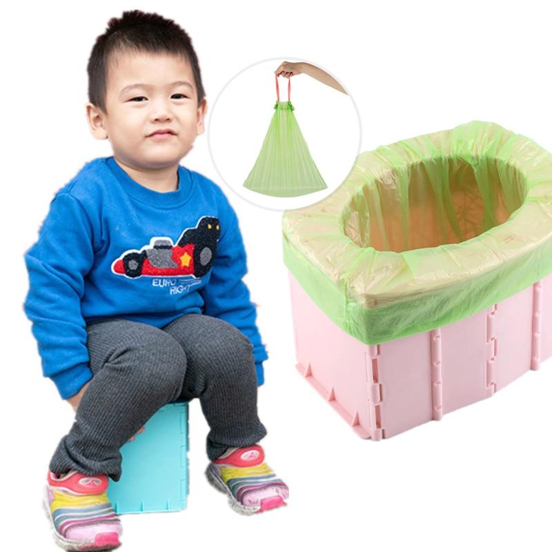 Camping Kids Potty Toilet-Bearing Training-Seat Travel Car Weight Folding Baby Portable