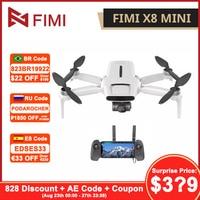 Original FIMI X8 Mini Drone con cámara 8KM 4K Mini Drone Quadcopter 250g-class Drones GPS Helicóptero De Control Remoto