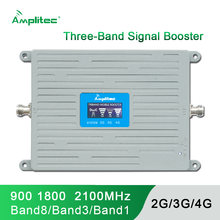 Амплитек новейший gsm 2g 3g 4g усилитель сигнала трехдиапазонный