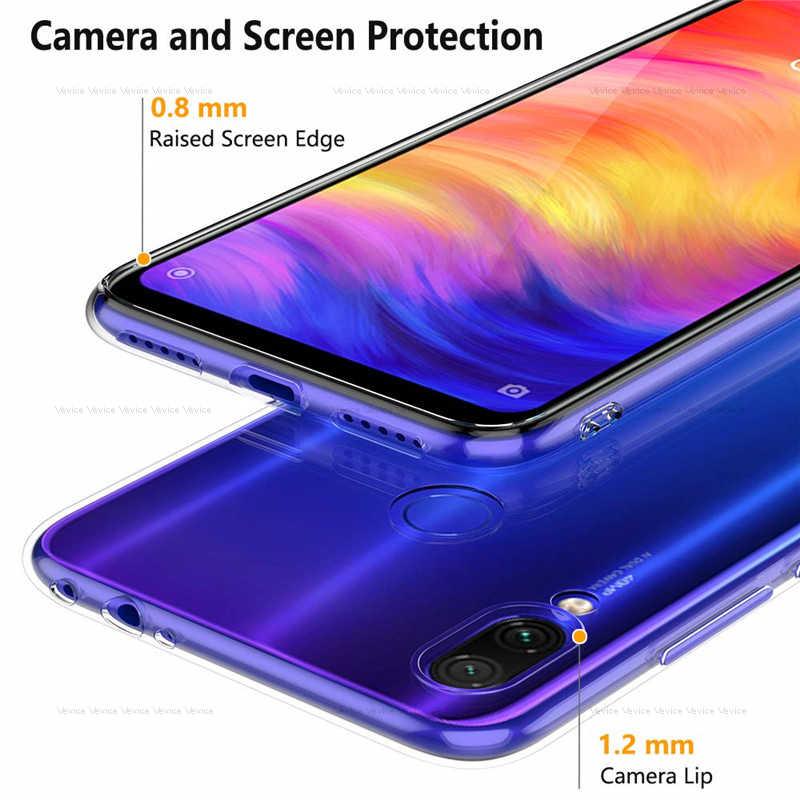 Clear TPU Cover For Xiaomi Redmi Note 7 5 6 Pro 7 6A 5 Plus S2 4X 4A Mi 9 8 SE Mi A3 A2 Lite A1 6 CC9 E Poco F1 Ultra Thin Case