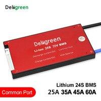 24 s 25a 35a 45a 60a 72 v 84 v pcv/pwb/bms para 3.2 v lifepo4 3.7 v lincm bateria 18650 lithion li ion bloco|Acessórios para baterias|   -